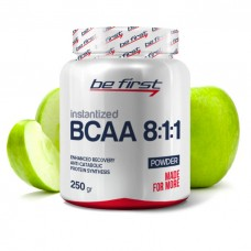 BCAA 8:1:1 INSTANTIZED powder Яблоко 250гр банка Be First