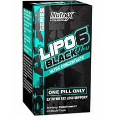 Жиросжигатель Nutrex Lipo 6 Black Hers Ultra Concentrate 60капс